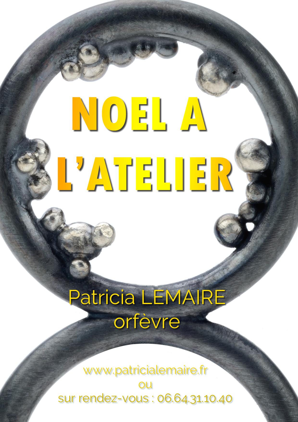 Passer-Noel-a-l-atelier--de-creation-de-Patricia-Lemaire-Orfevre-sculptures-bijoux-contemporains-Patricia-Lemaire-createur-de-bijoux-contemporains