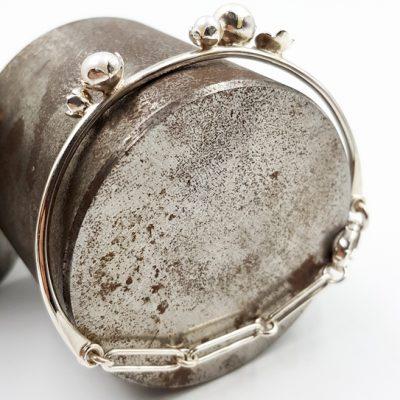 ROCK N PEARL bracelet ferme ST20078 argent925 3perles d eau douces rondes PatriciaLemaire 16cm 1